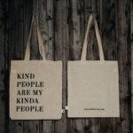 Baumwolltasche: kind people