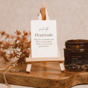 Soul Note: Gratitude